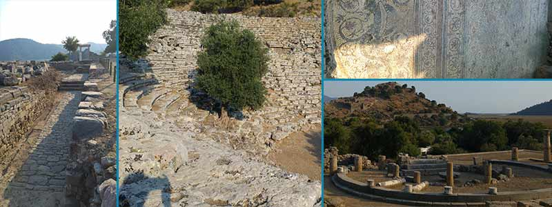 kaunos, turchia, archeologia